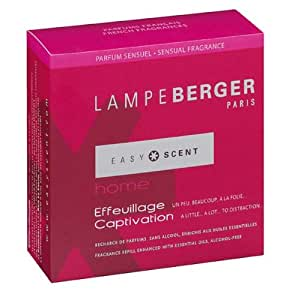 easy scent by le berger home recharge captivation aromatherapy candle home kitchen