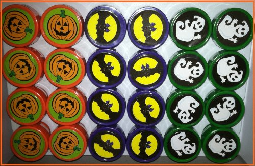 24 Halloween Stampers - Halloween Stamp Assortment ! - 1