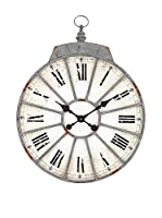 Contemporary Living Reloj De Pared Roma Metal