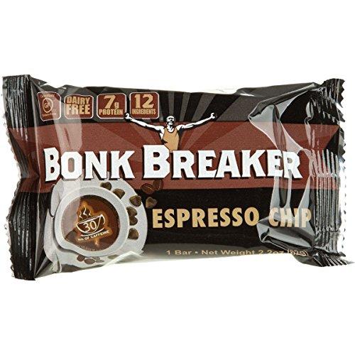 Bonk Breaker Energy Bars Energy Bar Espresso Chip, Box of 12 bars (Bonk Breakers Espresso Chip compare prices)