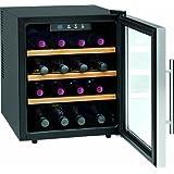 Profi Cook PC-WC 1047 Flaschenkühlschränke / A / 52  cm Höhe / 131 kWh/Jahr / 46 L Kühlteil  / Flaschenkapazität: 16 à 0.75 L Bedienfeld mit LED-Display, blau beleuchtet   / inox