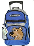 Scooby Doo Large Rolling Backpack - School Book Bag, Great gift for kids (Bottle is not included)