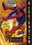 Spider-Man 2 Stencil Activity Book: With Stickers & Pencils