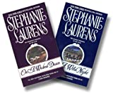 Stephanie Laurens, Cynster Two Book Set:  On a Wicked Dawn, On a Wild Night (0060537434) by Laurens, Stephanie