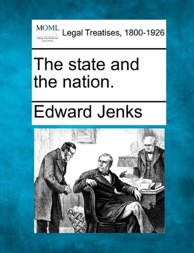 The state and the nation.