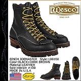 (ウエスコ)WESCO 8インチ ジョブマスター [ブラック] 8INCH JOB MASTER Eワイズレザーメンズウェスコ BK108100 (並行輸入品)