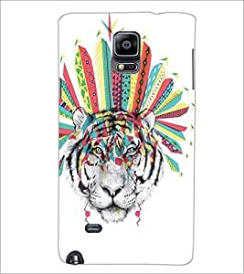 SAMSUNG GALAXY NOTE EDGE TIGER Designer Back Cover Case By PRINTSWAG