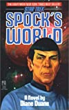 Spock's World (0671667734) by Diane Duane