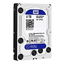 【Amazon.co.jp限定】WD HDD 内蔵ハードディスク 3.5インチ 4TB Blue WD40EZRZ/AFP / 5,400rpm / SATA3.0 / 2年6ヶ月保証