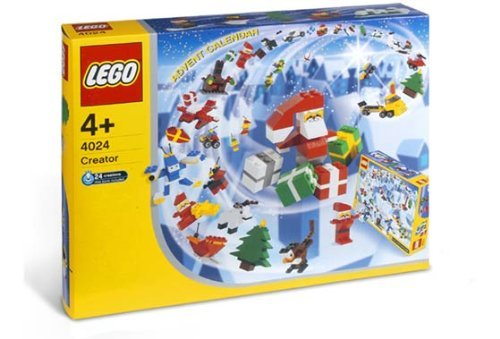 Lego Creator Advent Calendar 2003, 318 Pieces, 4024 front-866479