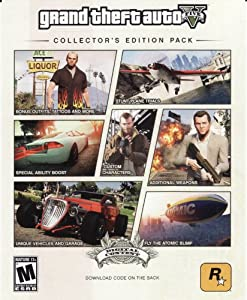 Amazon.com : Grand Theft Auto V Collector's Edition Pack