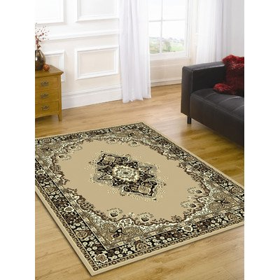 Element Lancaster Beige Contemporary Rug Size: 320cm x 220cm (10 ft 6 in x 7 ft 2.5 in)