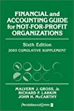 img - for Financial and Accounting Guide for Not-For-Profit Organizations (Wiley Nonprofit Law, Finance and Management Series) book / textbook / text book