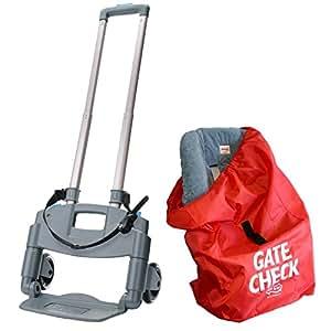 Amazon Com Brica Roll N Go Car Seat Transporter With