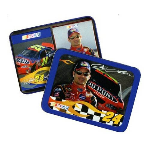 The U.S. Playing Card Co. Jeff Gordon Playing Cards in a Tin with 2 Decks 2pcs t10 canbus error free car license plate lights 9 smd led light bulbs 194 w5w auto wedge panel interior light