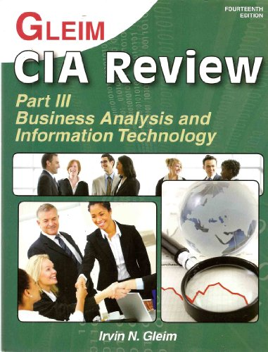 CIA Review Part III: Business Analysis and Information Technology