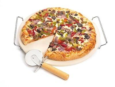 12.5-Inch Pizza Stone Set