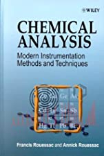 Chemical Analysis Modern Instrumentation Methods and Techniques by Rouessac