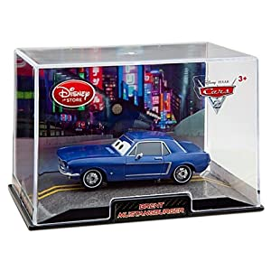 "Disney Pixar ""Cars 2"" Exclusive 1:48 Die Cast Car BRENT MUSTANGBURGER (Disneystore exclusive) - Véhicule Miniature - Voiture"