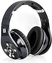 Bluedio R+ - Auriculares de diadema cerrados (reducción de ruido, Bluetooth 4.0, HiFi), negro