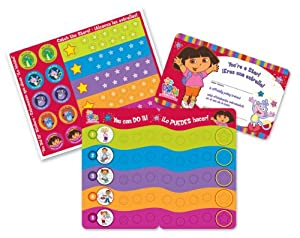 Ginsey Dora Potty Reward Stickers