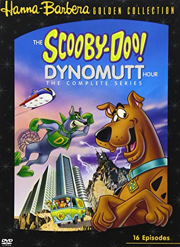 DVD : The Scooby-Doo/ Dynomutt Hour: The Complete Series (Digipack Packaging, , Standard Screen, 4 Disc)