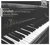 ブラームス:ピアノソナタ第1番、第2番、スケルツォ (Brahms : Sonatas nos.1 & 2, Scherzo op.4 / Alexander Melnikov ; piano Bosendorfer 1875) [日本語解説書付]