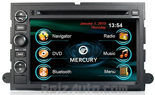 2006-2010 Mercury Mountaineer 2008-2009 Mercury Sable 2006-2008 Mercury Milan 2005-2007 Mercury Montego 2004-2007 Mercury Monterey In-Dash Dvd Gps Navigation Radio Bluetooth Hands-Free Steering Wheel Controls Touch Screen Ipod Iphone-Ready Deck Av Receive