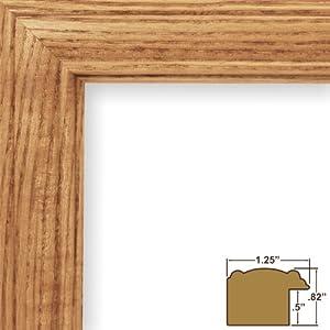 Amazon.com - 11x14 Picture / Poster Frame, Wood Grain ...