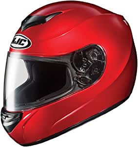 HJC Helmets CS-R2 Helmet (Candy Red, Small)