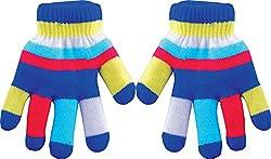 True Gear Children's Insulated Gloves (Blue)