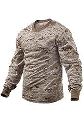 Desert Digital Camouflage Tactical Long Sleeve Shirt