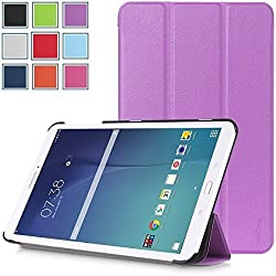 Galaxy Tab E 8.0 Case - HOTCOOL Ultra Slim Lightweight Stand Cover Case For Samsung Galaxy Tab E 8.0 Tablet, Purple