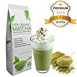 Starter Matcha (16oz) - Premium Certified Organic, Pure Matcha Green Tea Powder, Incredible Flavor, Delicate Aroma, Natural Energy Booster and Fat Burner