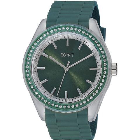 Esprit ES900692003 - Reloj analógico de cuarzo unisex con correa de plástico, color azul