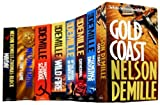 Nelson Demille Nelson Demille Collection 8 Books Set New RRP £64.92 (Nelson Demille Collection) (Gold Coast, The General's Daughter, Cathedral, By the Rivers of Babylon, Wild Fire, The Charm School, The Lion's Game, Mayday)