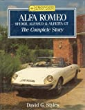 David G. Styles Alfa Romeo: Spider, Alfasud and Alfetta GT - The Complete Story (Crowood AutoClassic)