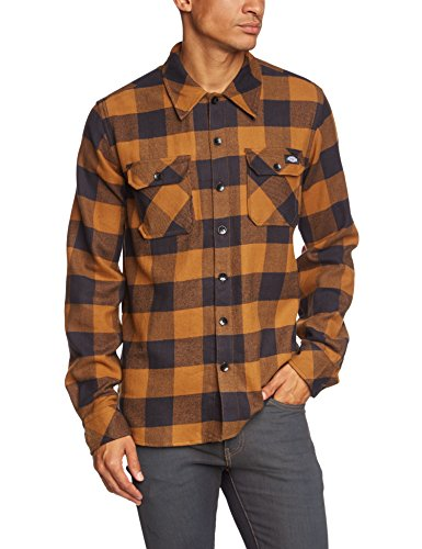 dickies-sacramento-t-shirt-homme-marron-brown-duck-large-taille-fabricant-large