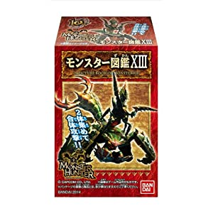 モンスターハンター モンスター図鑑 13 10個入 BOX (食玩・ガム)