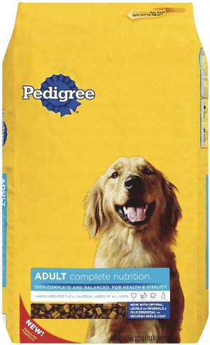 PEDIGREE Adult Complete Nutrition Chicken Flavor Dry Dog Food, 36 lb. Bag (Pack of 1)