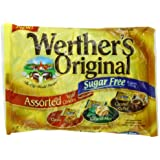 Werther's Sugar Free Assorted, Original, 7.7 Ounce