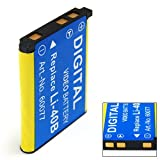 Invero HIGH QUALITY Battery for Olympus Mju-Digital Tough-3000