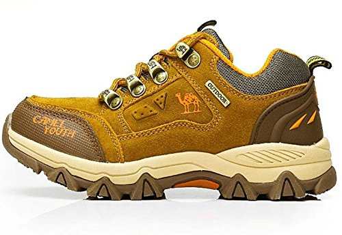 Camel A4433 Wear Resistance Hiking Oxfords(Little Kids/Big Kids)Khaki Size Us 13 front-985261