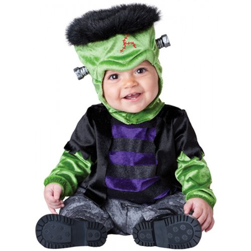Incharacter Costumes, Llc Monster-Boo, Black/Green/Purple, Large front-993304