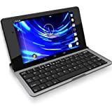 Minisuit Bluetooth Keyboard Stand Case for Google Nexus 7 FHD 2013 (Rubberized Non-Slip Grip)