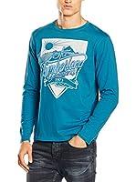 Timberland Camiseta Manga Larga Ls Kennebec Rvr Cmpn (Azul Claro)