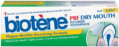 Biotene - PBF Plaque Dissolving Toothpaste, 4.5oz (Pack of 2)
