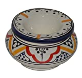 Moroccan Ceramic Smokeless Ashtray