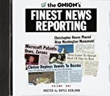 img - for The Onion's Finest News Reporting, Volume I book / textbook / text book