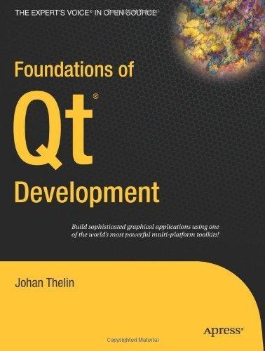 [(Foundations of Qt Development )] [Author: Johan Thelin] [Aug-2007] (Foundations Of Qt Development compare prices)